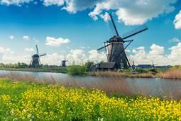 ベルギーからオランダへ ~世界遺産の風車のある風景とオランダ絵画を楽しむ~ 7日間