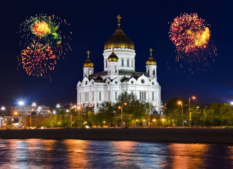 ロシアの花火