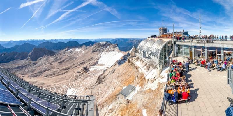 ミュンヘンからドイツ最高峰ツークシュピッツェへ