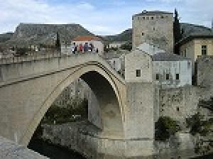 オスマントルコ時代の影響が色濃く残る世界遺産「モスタル」