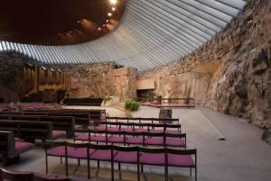 岩をくりぬいて造られた、隠れ家のような教会【フィンランド情報】