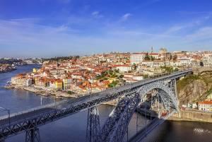 旧市街を一望できる大鉄橋