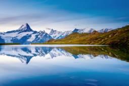 大自然に抱かれる絶景スイスハネムーン7日間 【山岳ホテル(3100 Kulmhotel Gornergrat)宿泊付き】