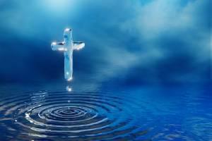 水辺に浮かぶ幸福の十字架を目指して! 主顕現祭