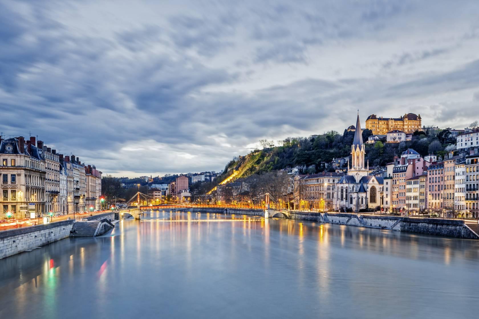 映画の舞台になったフランスの観光地 リヨン