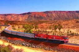 オーストラリア ウルル・エアーズロックとザ・ガン大陸縦断鉄道の旅