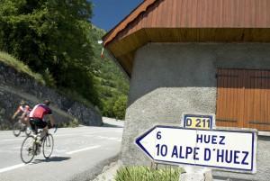 ツール・ド・フランス2015 難関の山岳コース アルプ・デュエズ