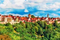 """2017年6月 中世ドイツへタイムスリップ!ローテンブルク歴史祭""""マイスタートゥルンク""""と""""隕石の街""""ネルトリンゲンをめぐる 5日間"""