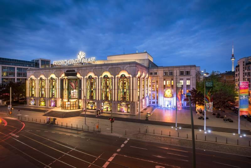 ベルリンのレビュー劇場「フリードリヒシュタットパラスト」