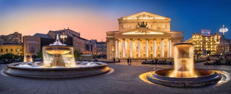 ロシア舞台芸術の最高峰:ボリショイ劇場