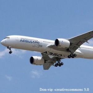 エアバス「A350」 がお披露目されています!