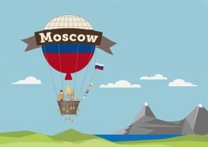 ロシアの大地を飛ぶ!