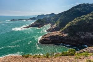 The spectacular coastline of  Hyuga (Kyushu)