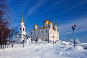 大公国の首都として北東ロシアに輝いた街ウラジーミル