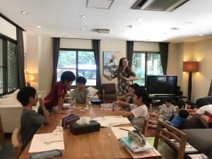 English Camp 4日目(8月1日) レッスン風景