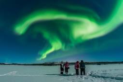 北極圏最大の都市ムルマンスク オーロラツアー5日間