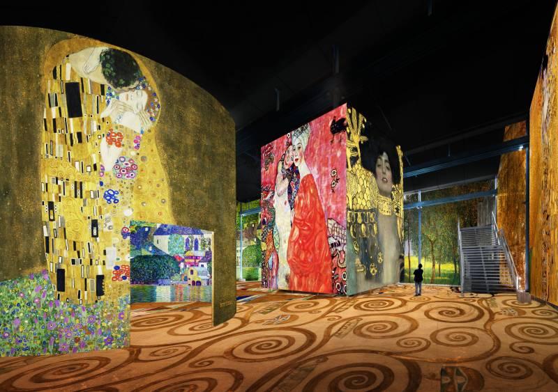 できたてほやほや パリの新名所 Atelier des Lumière