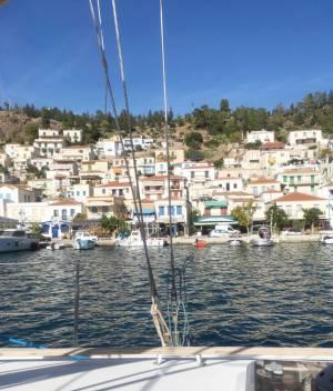 ギリシャ冒険旅行③-ヨットセーリングツアー4日間航海日誌 2日目 イドラ島-ポロス島