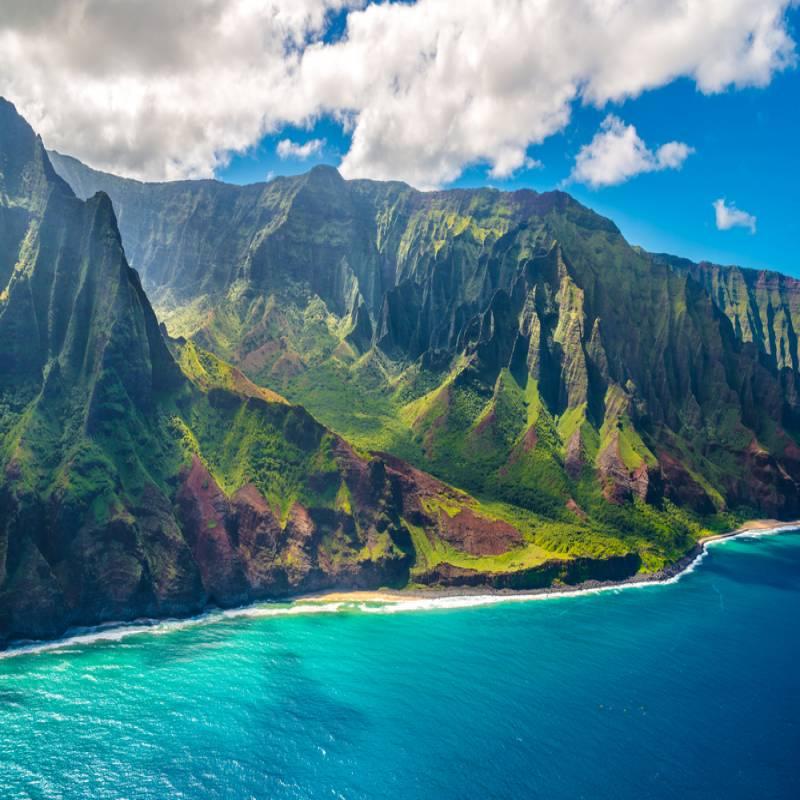 ハワイ島から1番遠い島:カウアイ島