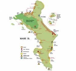一度は行ってみたいセイシェル マヘ島