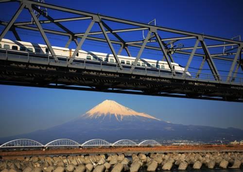 Les installations ferroviaires au Japon.