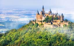 ドイツの3大名城巡り☆ライン川クルーズと古城ホテル宿泊付き☆7日間