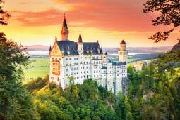 ドイツの人気観光地とスイスの景勝ルートを周る!ラグジュアリー旅行