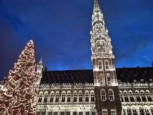 ブリュッセルのクリスマスツリー 2016