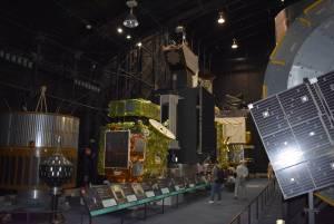 宇宙飛行士訓練体験 終了しました。 次は特別公開見学へ。