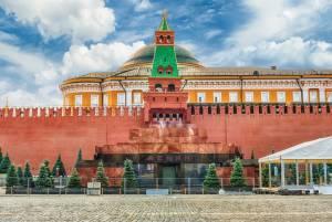 赤の広場のシンボル:レーニン廟