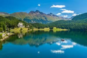 チューリッヒ&サンモリッツ 美しい湖と山を楽しむ旅★4泊6日