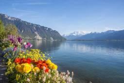 レマン湖畔散歩とアルプス名峰モンブラン 7日間