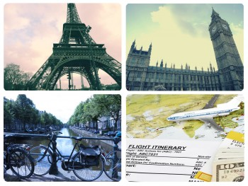 ベルギーを起点にヨーロッパを巡る旅