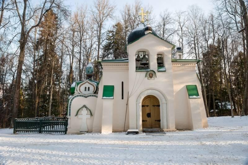 大自然に囲まれた芸術家村アブラムツェヴォ