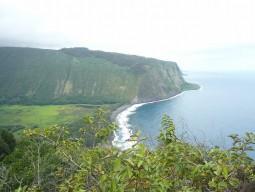 ハワイ島満喫ツアー チャーター (ワイピオ渓谷ツアーコース)