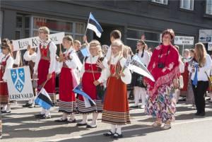 """エストニア""""歌と踊りの祭典"""""""