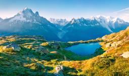 名峰モンブラン&レマン湖畔チョコレートトレイン&氷河急行 スイス満喫7日間