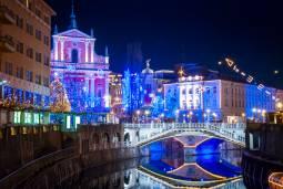 クロアチア&スロベニア クリスマスマーケット巡り 6日間