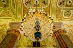 歴代のロシア皇帝が眠るペトロパヴロフスク聖堂