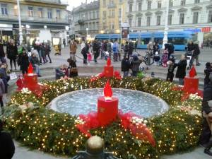 クロアチア・ザグレブのクリスマスマーケット