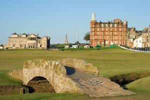 ゴルフの聖地セントアンドリュース・オールドコースでのプレー確約&2017年全英オープン観戦 パッケージ