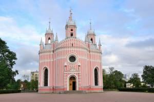 ケーキのようなロシア正教会、チェスメンスカヤ教会
