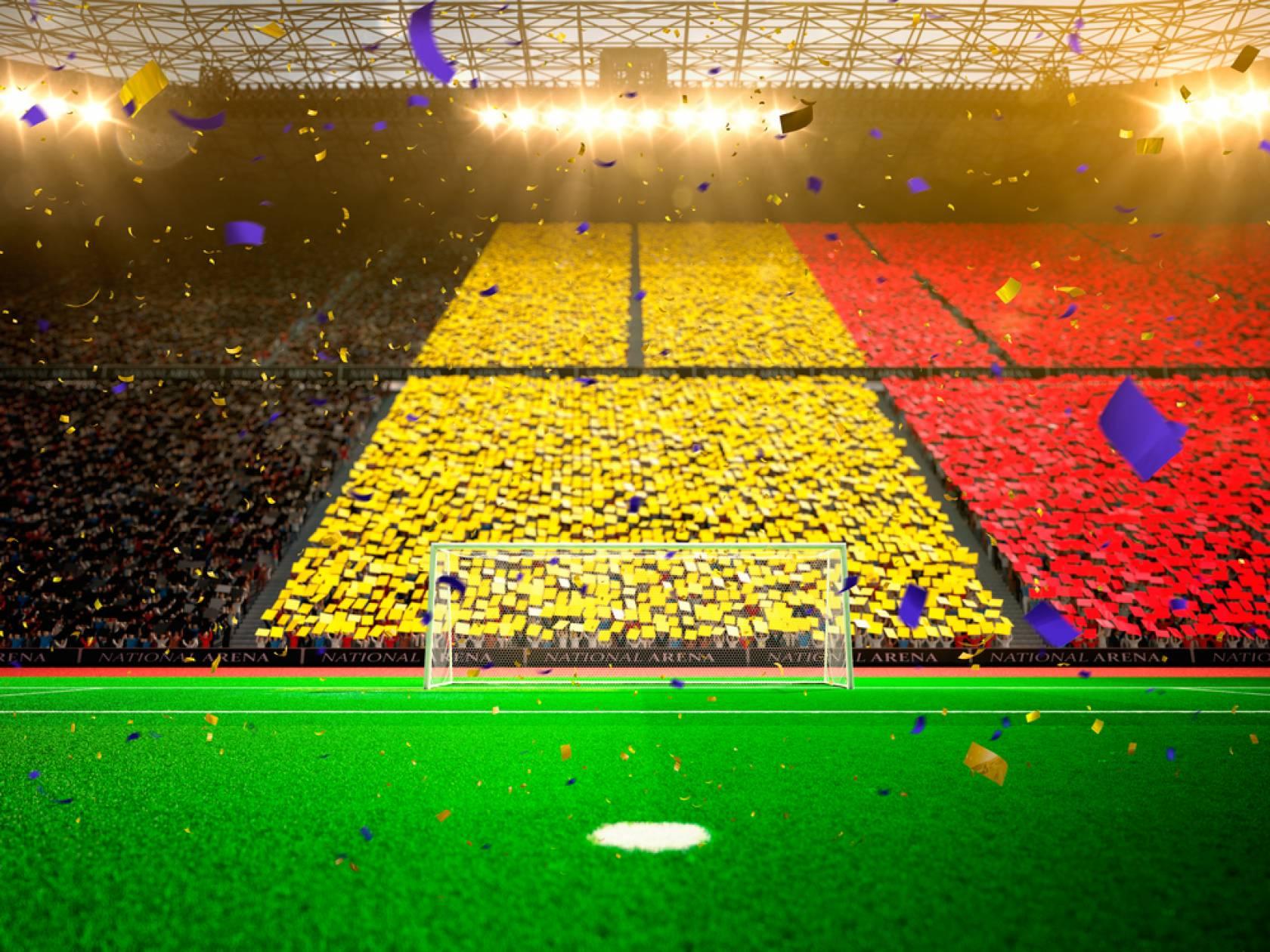 代表 サッカー ベルギー