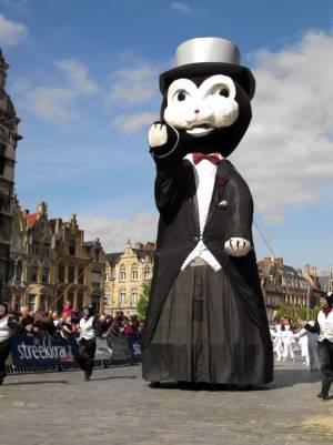 ベルギー☆イーペルの猫祭り☆イーペル王