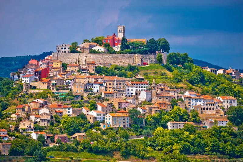 2019年ウルトラトレイルワールドツアー クロアチア・イストリア地方 「巨人が創った天空都市モトブン」