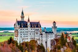 永遠の輝き☆ドイツ黄金のハネムーン6日間【オーストリア観光付き】