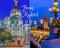 ヨーロッパ2か国周遊|パリ・マドリード2都市名画を訪ねて