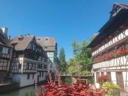 童話の世界のような美しい街並み アルザス
