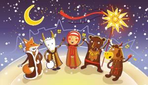 クリスマスの伝統儀式カルヤディ【ベラルーシ情報】