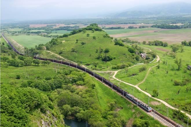 大陸を横断するシベリア鉄道の旅